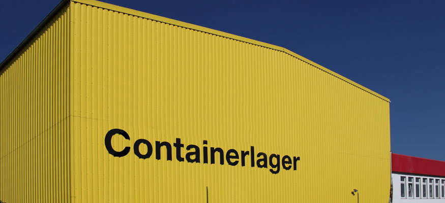 Containerlager Neuss